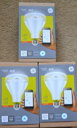 GE Link Smart LED Bulb BR30 Soft White 2700K 65-Watt Equival