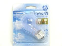GE REVEAL HD+ 40-Watt A15 Clear Appliance Light Bulb - 320 L