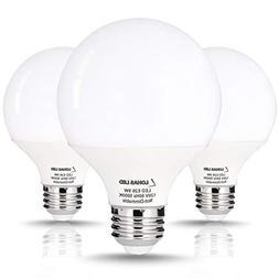 LOHAS G25 Globe LED Bulb 9 Watt, Light Bulb G25 LED, 60Watt