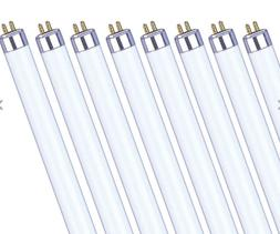 GROW BULBS T5 HO HIGH OUTPUT FLUORESCENT LAMP 2 & 4 ft VEG B