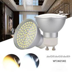 GU10 LED Spotlight Bulbs 3W 5W 7W 2835 SMD Energy Saving Lam