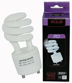 GU24 Base light bulb 13Watt 120v 60Hz 2 Prong Mini Twist Loc