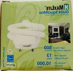 Maxlite MLS13GUSWW6 70441 Twist Style Twist and Lock Base Compact Fluorescent Light Bulb HI Progress Lighting