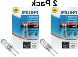Philips 50W 12V GY6.35 T4 3000K Dimmable Light Bulb
