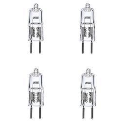 Deezio 12 Volt 50 Watts GY6.35 T4 Halogen Light Bulb with Gl
