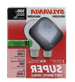 Sylvania Halogen Super Soft White 120 volts 72 watts Medium