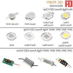 High Power 10W 20W 30W 50W 100W LED SMD Chip COB Lamp Driver