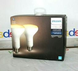 Philips Hue White Ambiance 2-Pack BR30 LED Smart Bulbs Bluet
