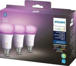 Philips - Hue White & Color Ambiance A19 Bluetooth LED Smart