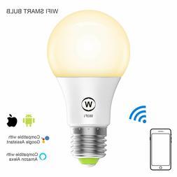 WIFI LED Smart Bulb Alexa & Google Assist., Echo , No hub re