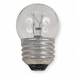 GE LIGHTING Incandescent Bulb,S11,53 lm,7.5W, 7 1/2S-120V