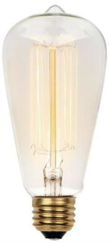 0413200 60 Watt ST20 Clear Timeless Vintage Inspired Bulb wi