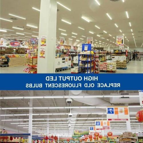 10-100pcs 4ft LED Tube 6500K Fluorescent Replacement Light Bulbs