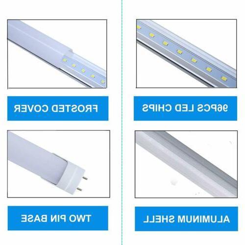 10-100pcs T8 LED Fluorescent