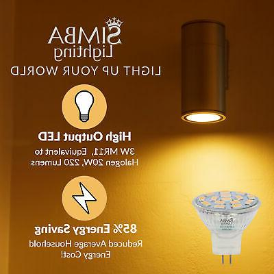 LED MR11 12V 3W Replacement 3000K