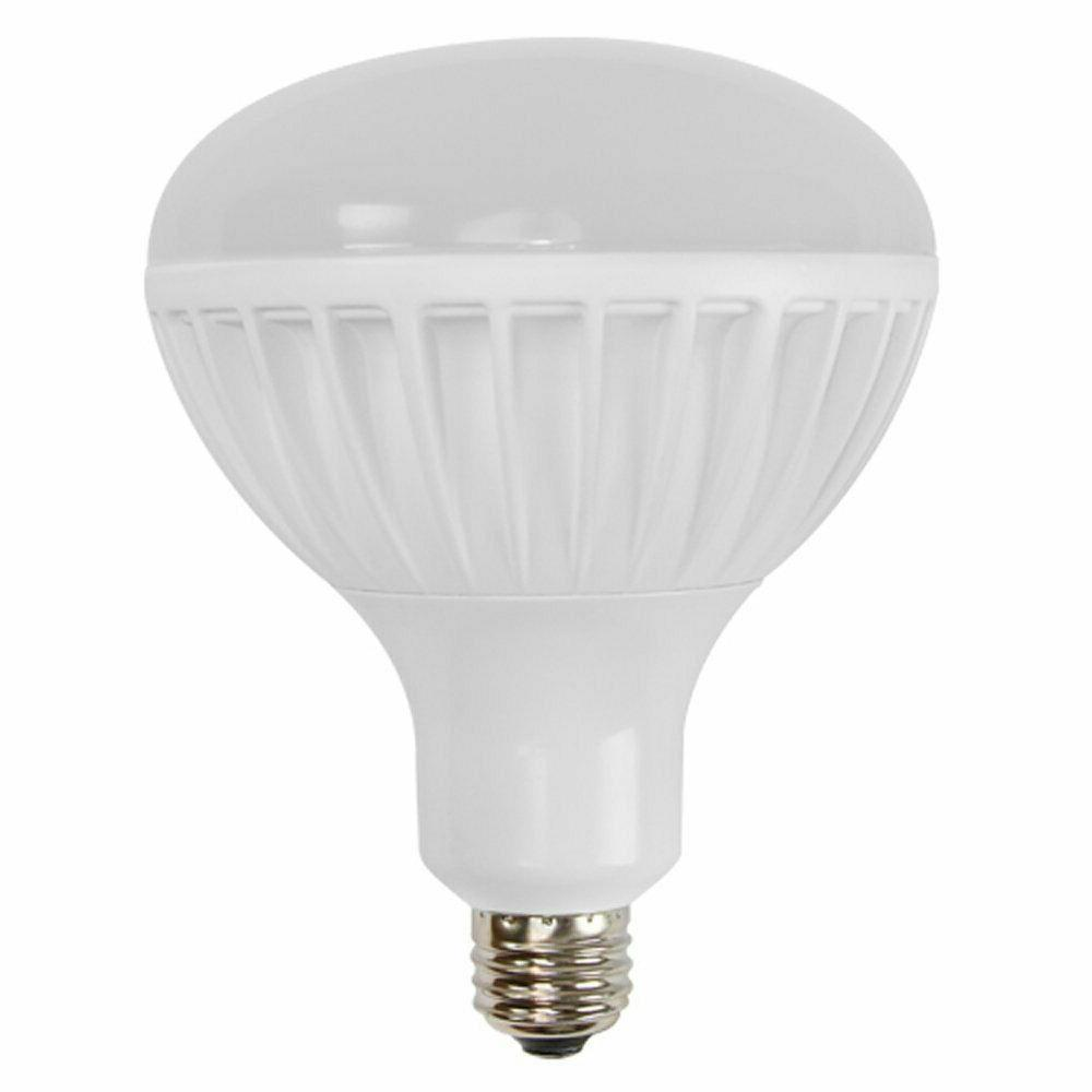 100w equal 3000k br40 dimmable led flood