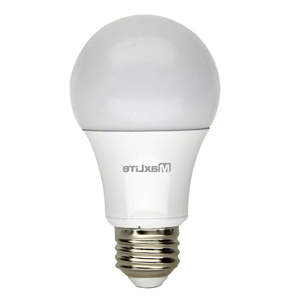 12 Equivalent LED Light 5000K A19 Base Dimmable