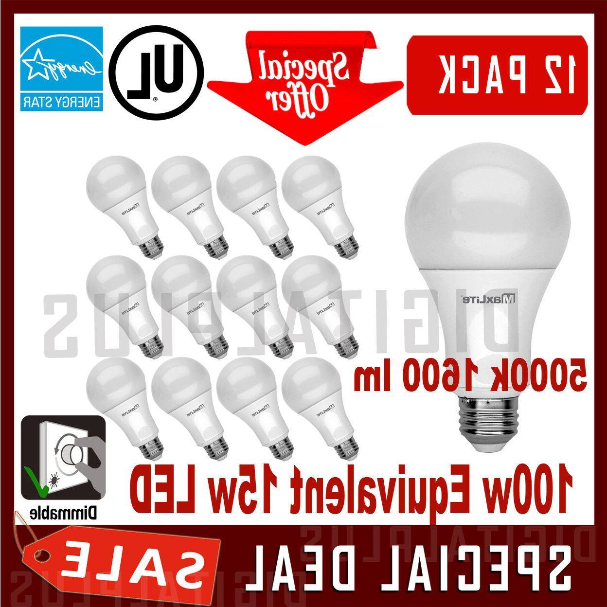 100w equivalent 15w led light bulb daylight