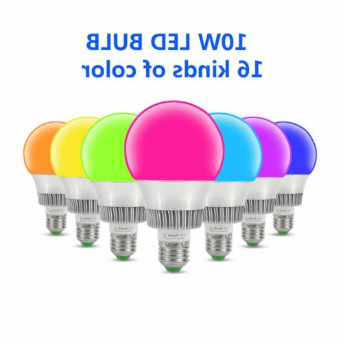 10W Dimmable RGB LED Color Memory Control