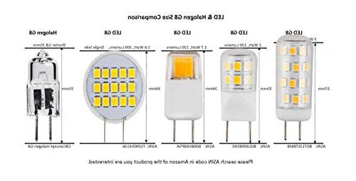 CBconcept Watts, Bi-Pin 35W Halogen Accent Lighting, Chanderlier, Puck Light, Microwave, & Lighting San Francisco