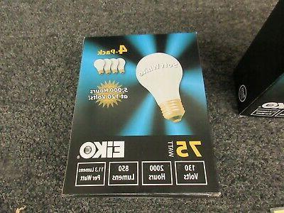 12 Light Bulbs White 850 A19