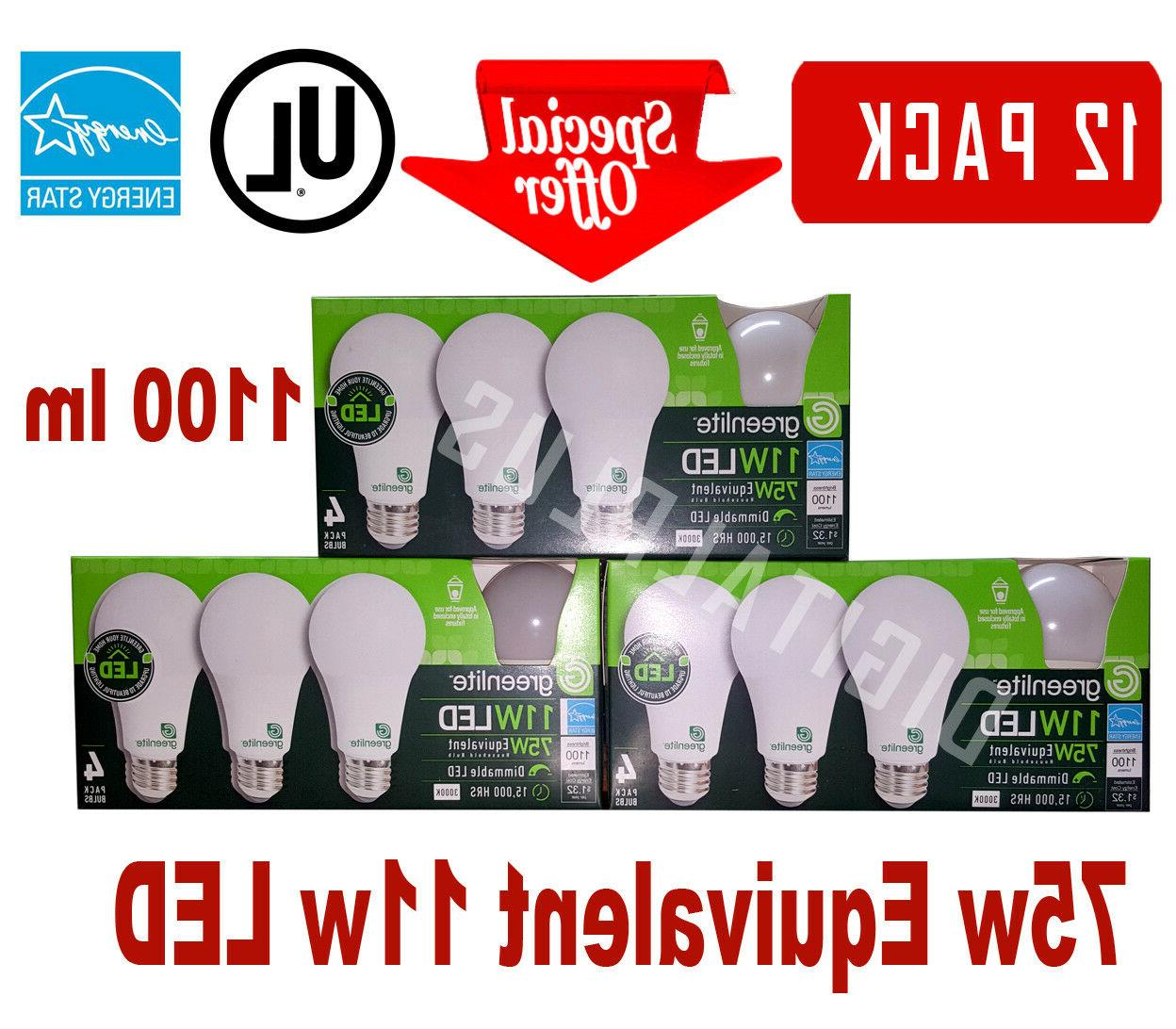12 LED GREENLITE Warm 3000K Dimmable