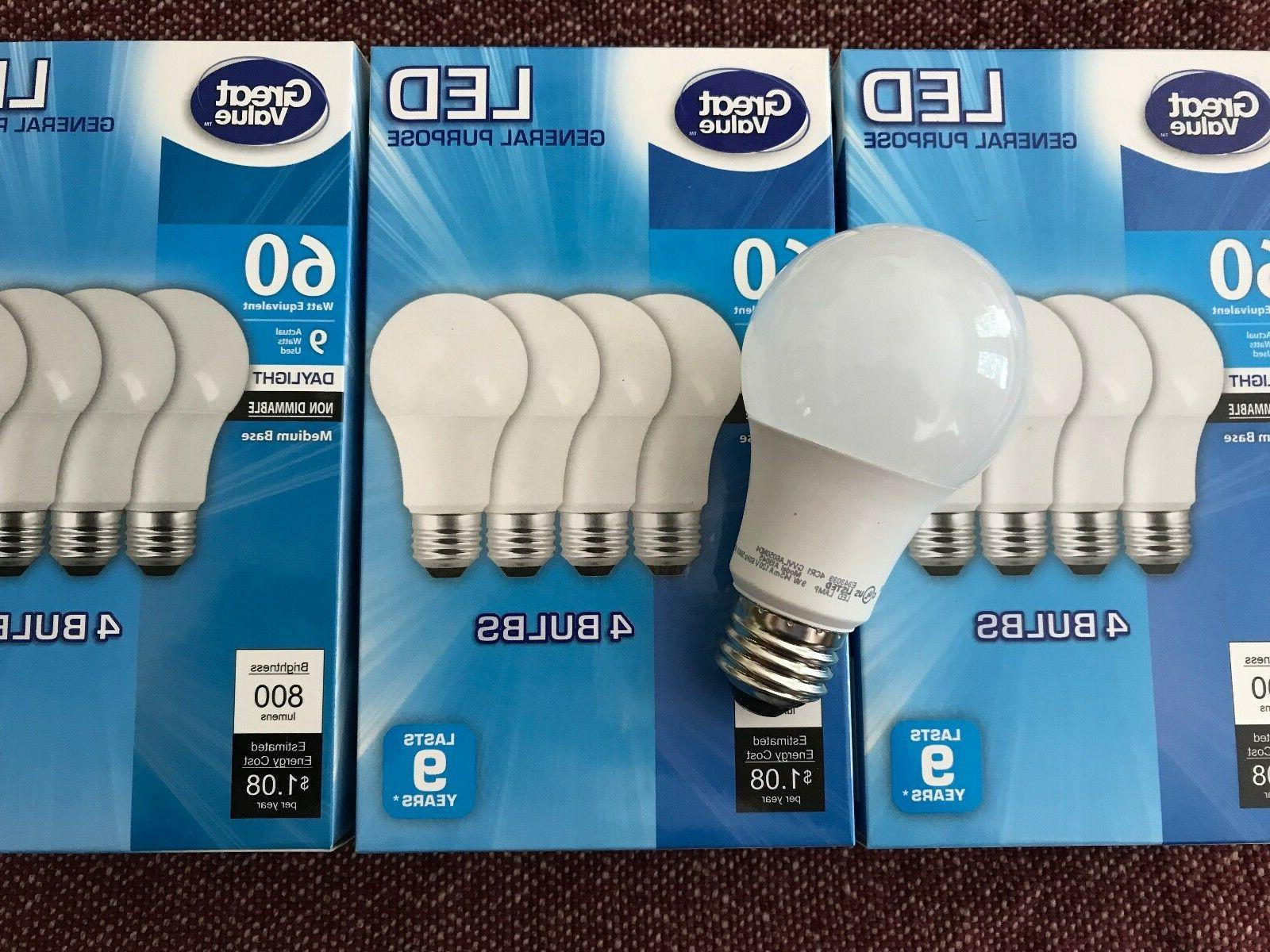 12 LED 60W = Watt E26 light