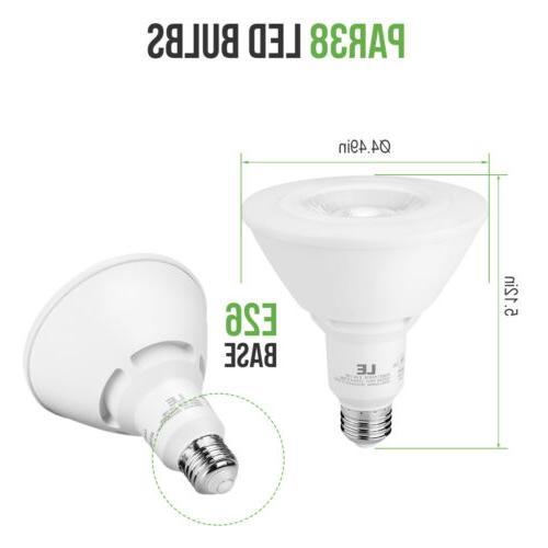 12 Pk LED Equivalent Flood Light Bulbs