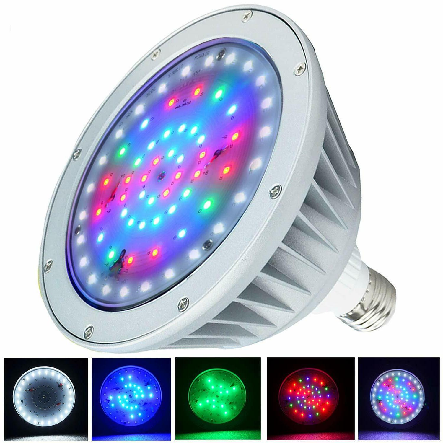 LED Pool Light Bulb for Inground Swimming Pool,2