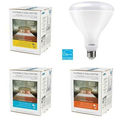 Cree 120W LED Light Bulb BR40 Dimmable Exceptional Equivalen