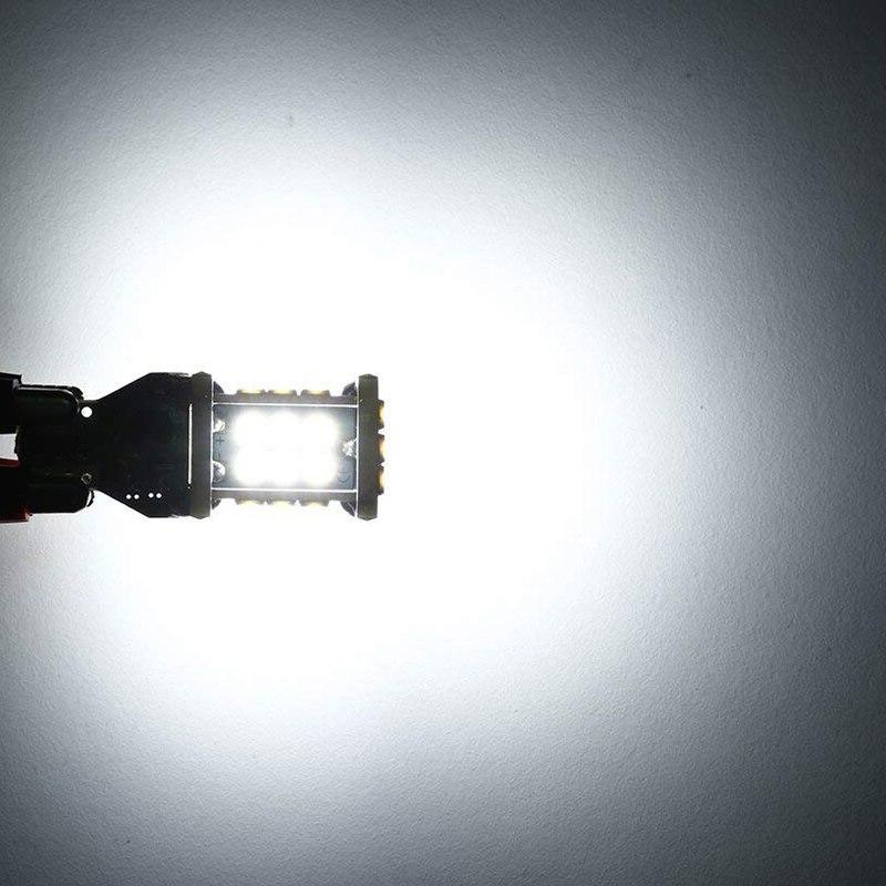 1300 Error W16W 3030 24SMD Lights Back Up Lights 6500K White
