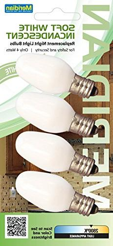 Meridian Electric 13201 Incandescent C7 Replacement Night Li