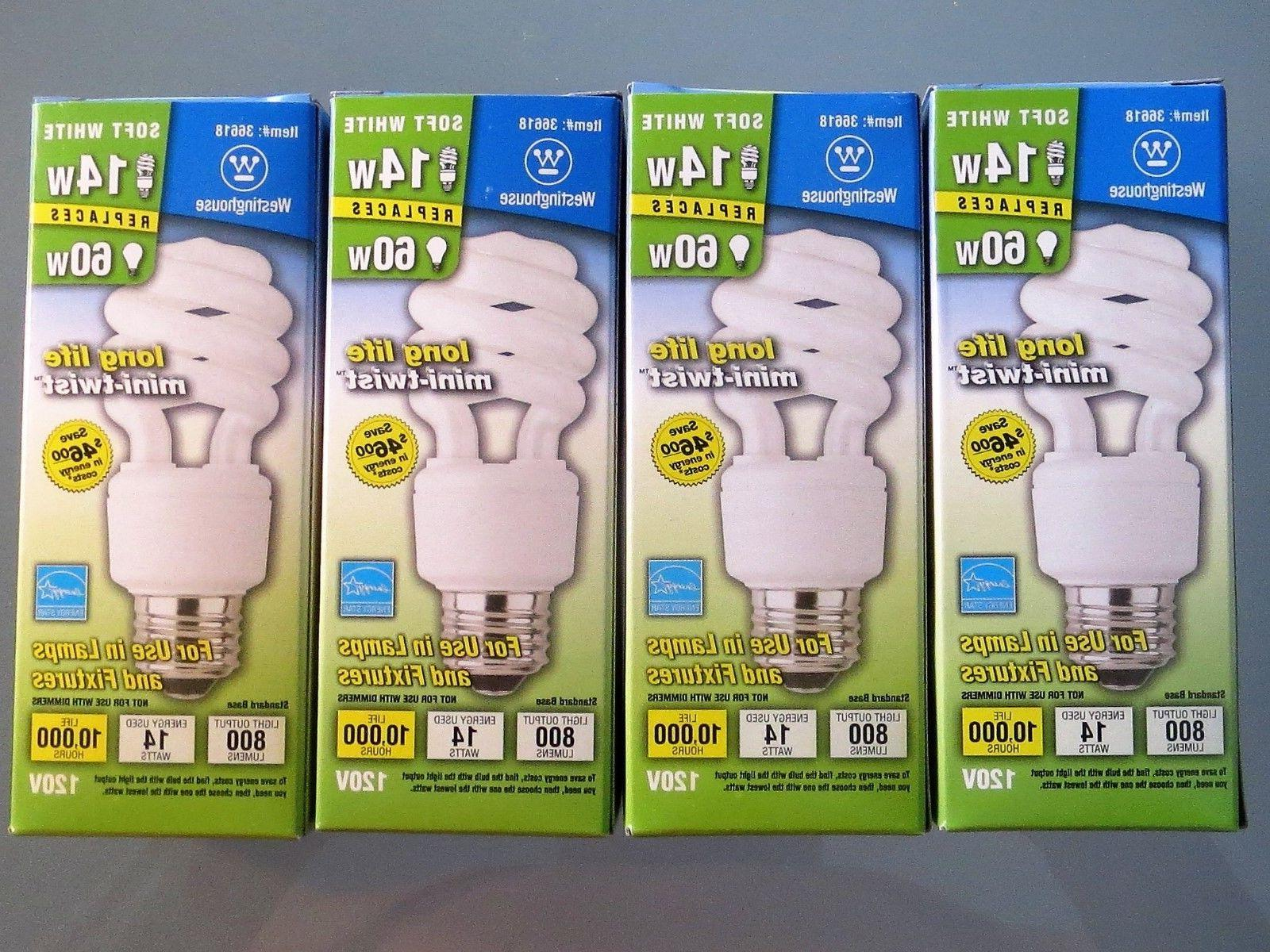 14 watt 60 watt cfl light bulb