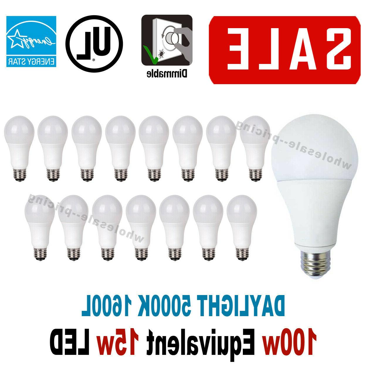 15 led light bulbs 15w 100w replacement