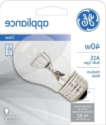 GE Lighting Appliance Light Light Bulb