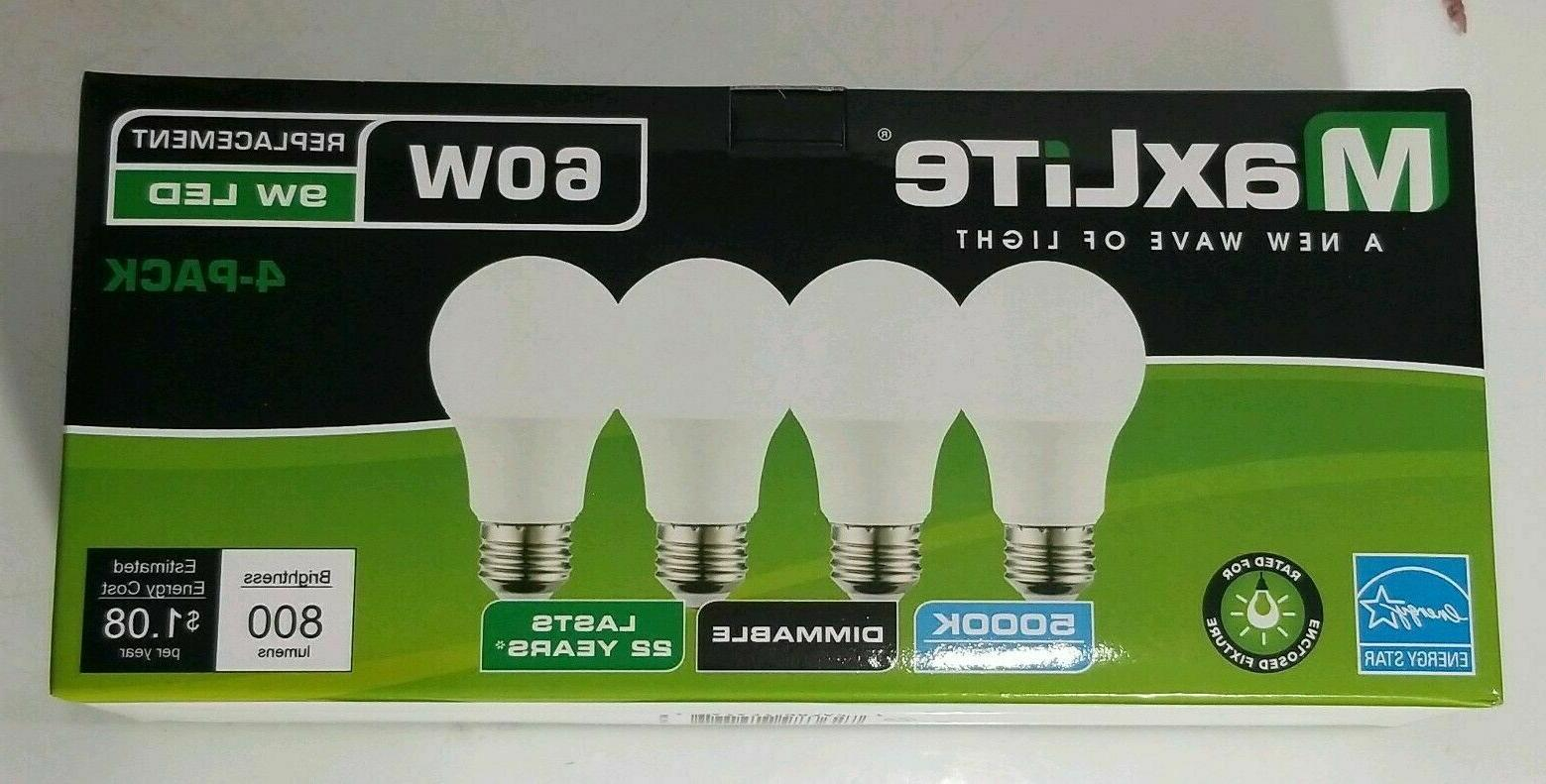 16 pack LED Light Bulbs New 60 Watt Equivalent A19 Dimmable