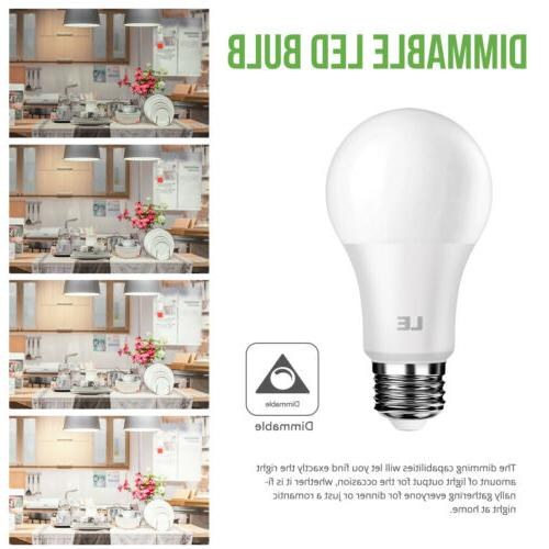 LE Dimmable A19 E26 LED 800 5000K
