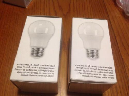 2 - - Soft White Light Bulbs