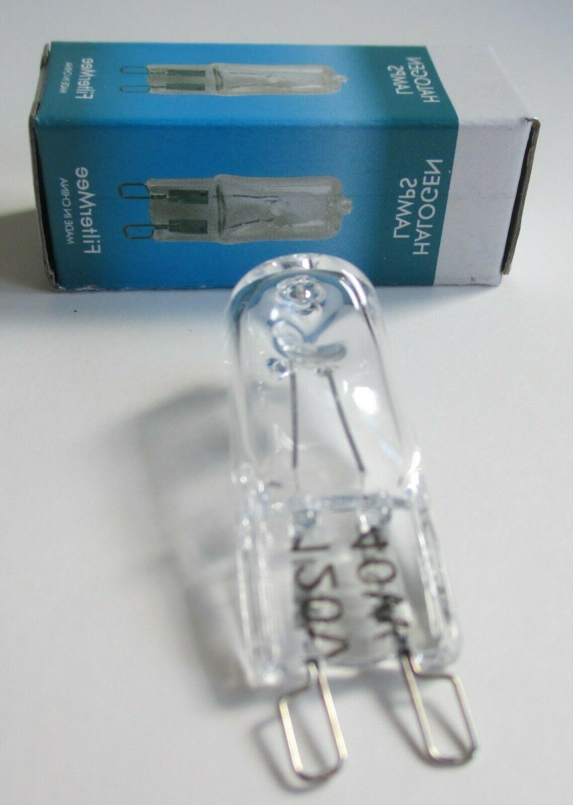 2 Bulbs G9 for GE Kitchenaid Microwave