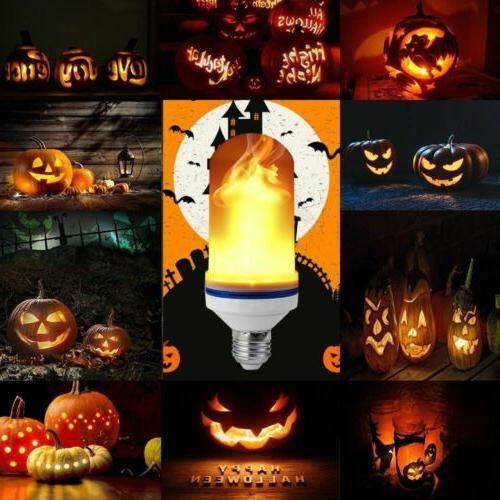 2 Flame Effect Fire Light E27 Lamp