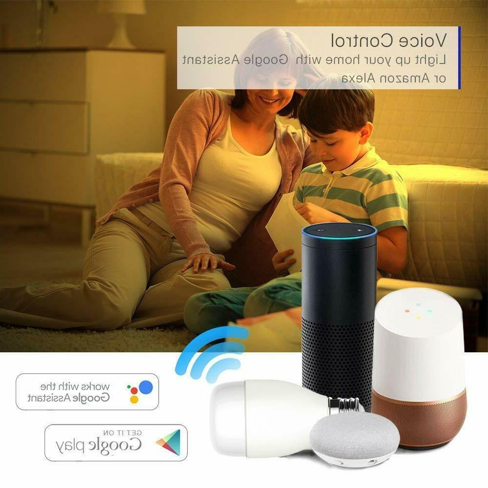 2-Pack WiFi Light Alexa, Hub