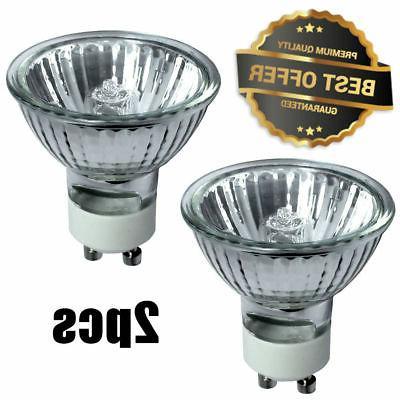 2 x gu10 120v 50w light bulb