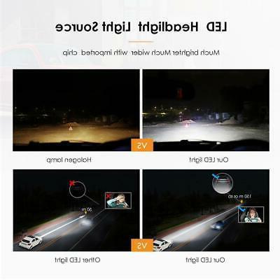 H1 CREE Light Bulbs Conversion Kit Super White