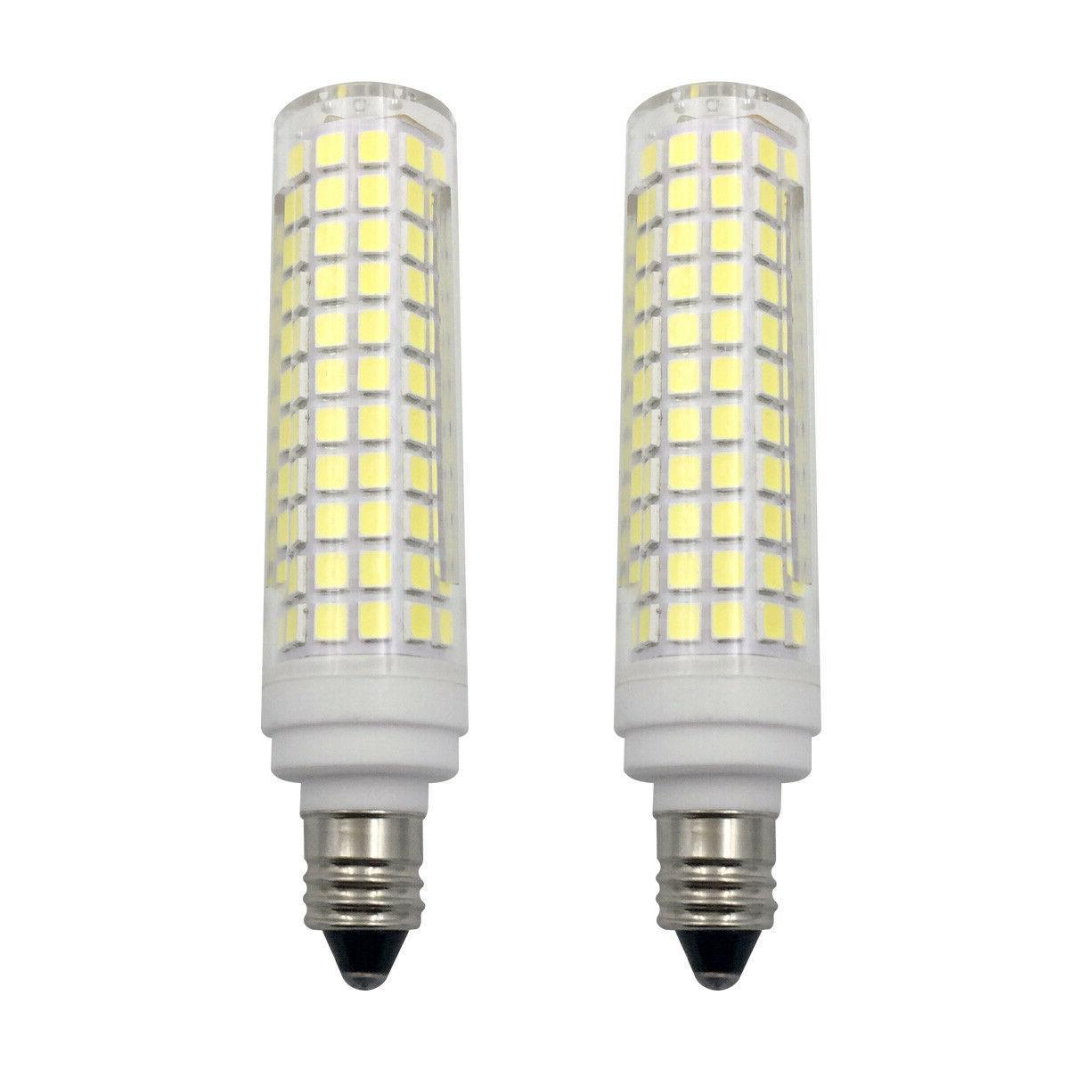 2pcs e11 led bulb 10w 110v 136
