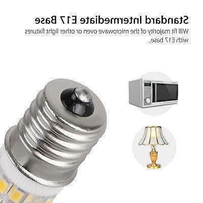 2Pcs LED Light E17 4W Bulbs