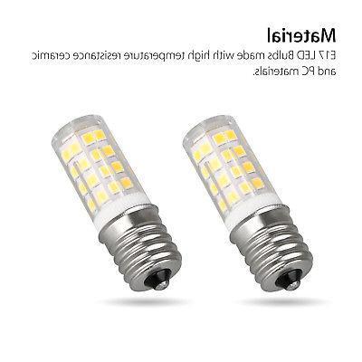 1/2PCS E17 4W White Light
