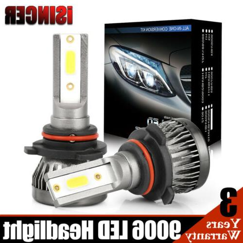 High Beam Philips Light Bulb 6000K 360W 36000LM 9005 HB3 Car LED Headlight Fog