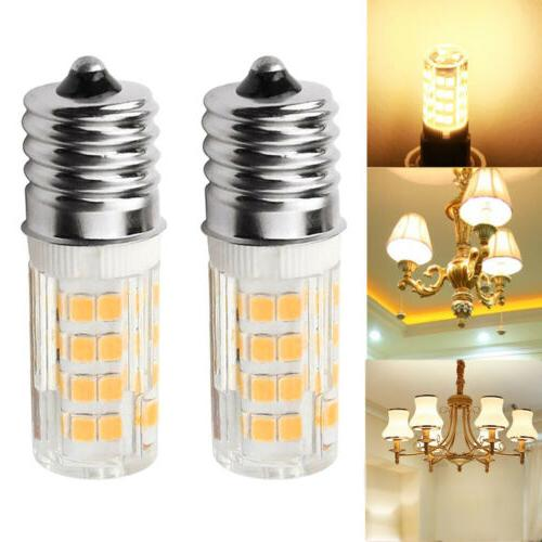 2x Microwave LED Replacement Light Bulb for Appliance E17 So