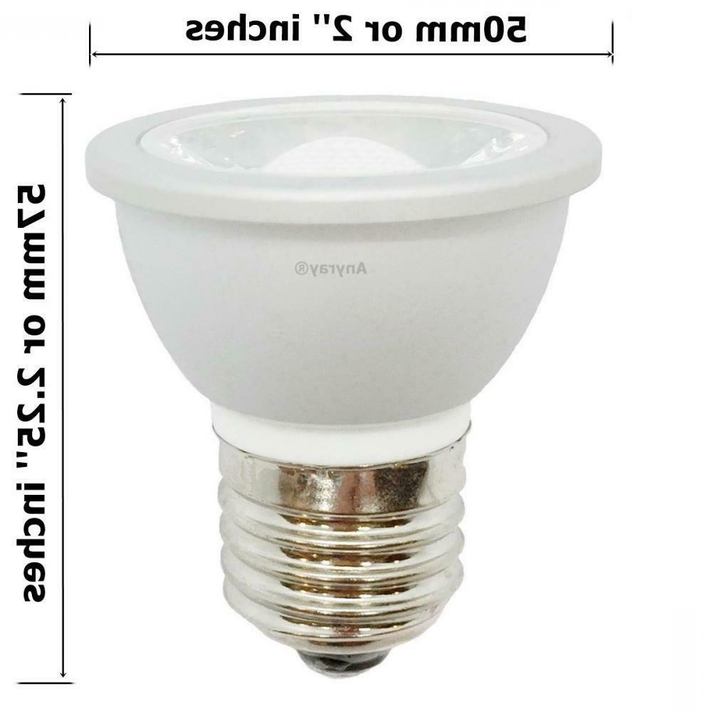 Anyray 3-LED Bulbs HR16 120V E27 JDR Short