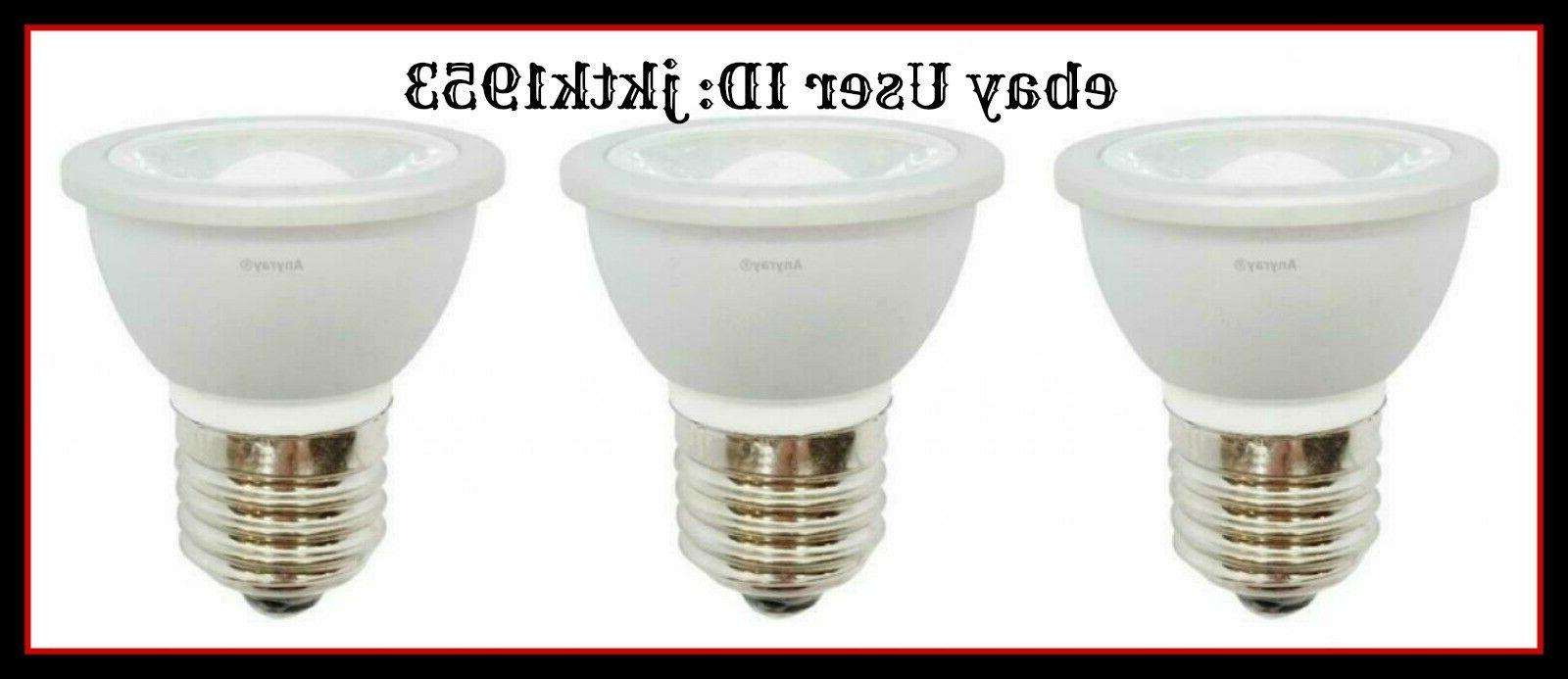 3 led light bulbs hr16 120v e27